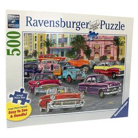 Ravensburger Cruisin Puzzle- 500pc Large Format Ravensburger