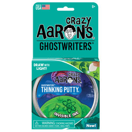"""Crazy Aaron's Thinking Putty Ghostwriters Invisible Ink Putty 4"""""""