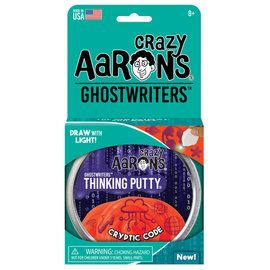 """Crazy Aaron's Thinking Putty Ghostwriters Cryptic Code Putty 4"""""""