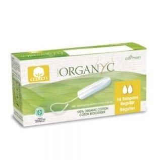 Organyc Organ(y)c Tampons, Digital Regular 16ct