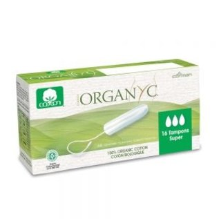 Organyc Organ(y)c Tampons, Digital Super 16ct