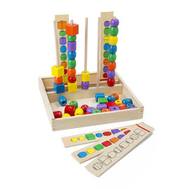 Melissa & Doug Bead Sequencing Set Classic Toy