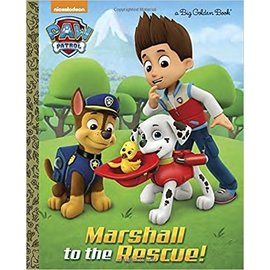 PenguinRandomHouse Paw Patrol Marshall to the Rescue