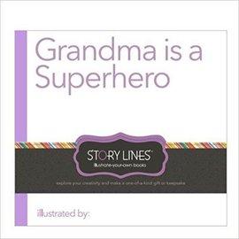Compendium Kids Grandma is a Superhero Story Lines