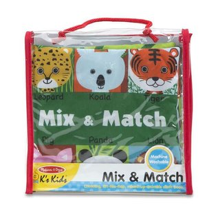 Melissa & Doug Soft Activity Book - Mix & Match