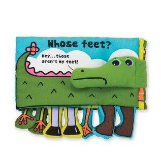 Melissa & Doug Soft Activity Book - Whose Feet?