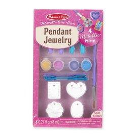 Melissa & Doug Decorate-Your-Own Pendant Jewelry