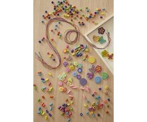 88bcedfab889 Melissa & Doug Bead Bouquet Deluxe Wooden Bead Set - EnchantedForest