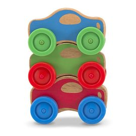 Melissa & Doug Stacking Cars Baby & Toddler Toy