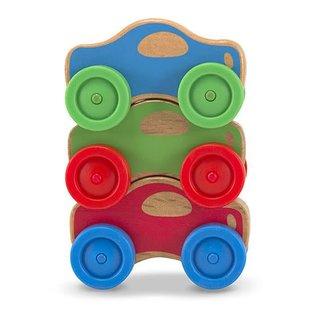 Melissa & Doug Stacking Cars Baby & Toddler Toy