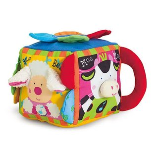 Melissa & Doug Musical Farmyard Cube Learning Toy