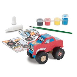 Melissa & Doug Decorate-Your-Own Wooden Monster Truck