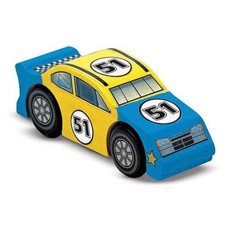 Melissa & Doug Create a Craft Wooden Race Car