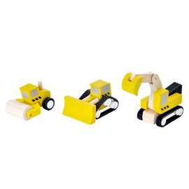 PlanToys Plan Toys Road Construction Set