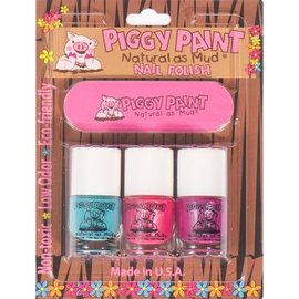 Piggy Paint Piggy Paint 3 Pack: Forever Fancy/Seaquin/Girls Rule