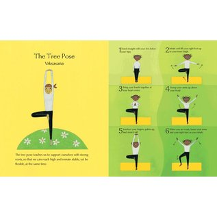 Barefoot Books My Daddy Is a Pretzel - Yoga for Parents and Kids