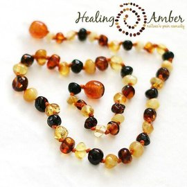 Baltic Amber Necklace - 12 inch