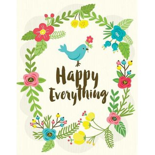 Yellow Bird Paper Greetings Happy Everything Greeting Card