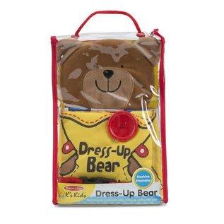 Melissa & Doug Soft Activity Book - Dress Up Bear