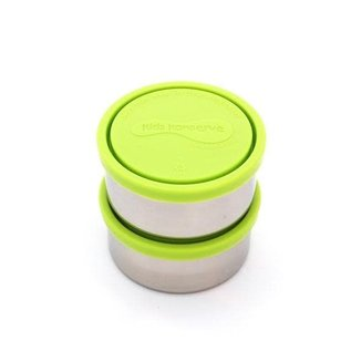 UKonserve 8oz Green Round Food Container - Single