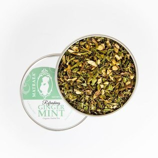 Matraea Refreshing Ginger Mint Tea 70g   (Certified Organic)