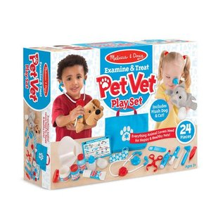Melissa & Doug Examine & Treat Pet Vet Play Set