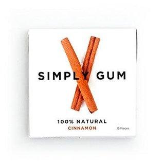Simply Gum Simply Gum Cinnamon Natural Chewing Gum