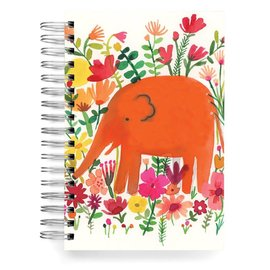 Ecojot Elephant Orange Journal