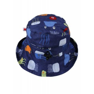 Snug as a Bug PB & Jelly Fish Adjustable Sun Hat