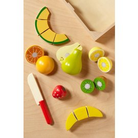 Melissa & Doug Cutting Fruit Set - Wooden Play Food