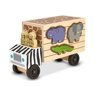 Melissa & Doug Animal Rescue Wooden Play Set