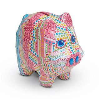 Melissa & Doug Decoupage Made Easy Craft Set - Piggy Bank