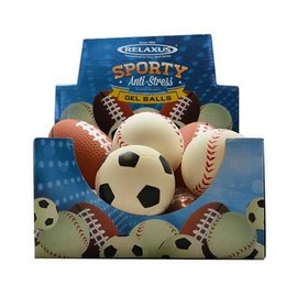 Relaxus Sporty Anti-Stress Gel Balls