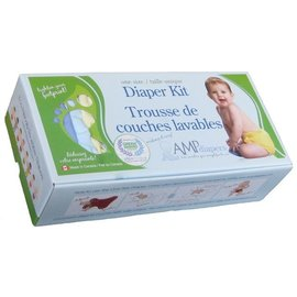 AMP Diapers AMP Diaper Kit- Hemp
