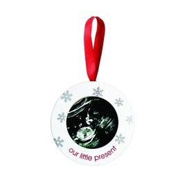 Pearhead Sonogram Ornament