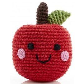 Pebble Pebble Handmade Happy Apple Rattle