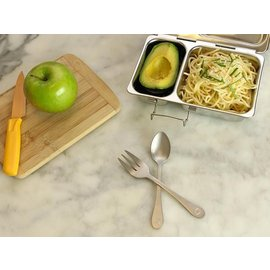 Planetbox PlanetBox Stainless Steel Fork & Spoon Set