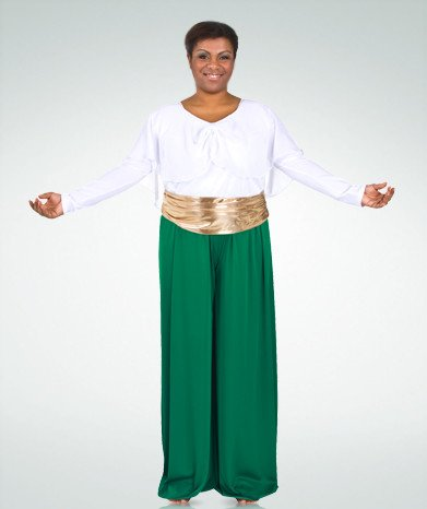 Body Wrappers 565 Celebration Of Spirit Palazzo Pant