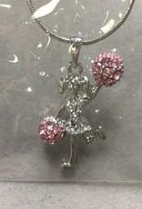 Dasha Designs 2787Pk Cheer Leader Necklace