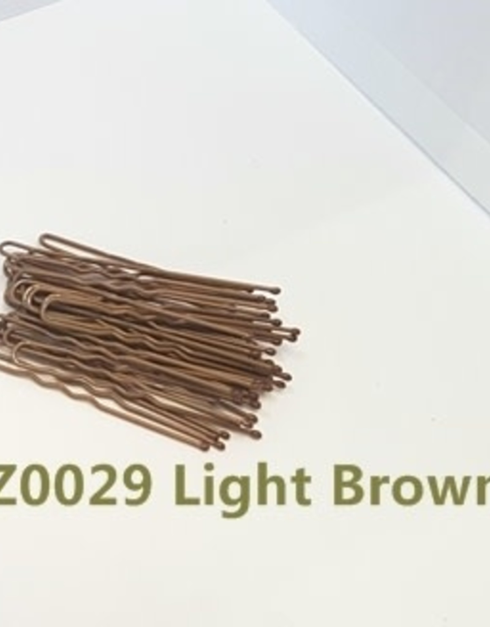 "FH2 AZ0029 2"" Hair Pin Light Brown"