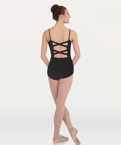 Body Wrappers P1072 Cross-Back Camisole Leotard