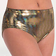 Body Wrappers 709 Sparkle Attitude Brief - Red M