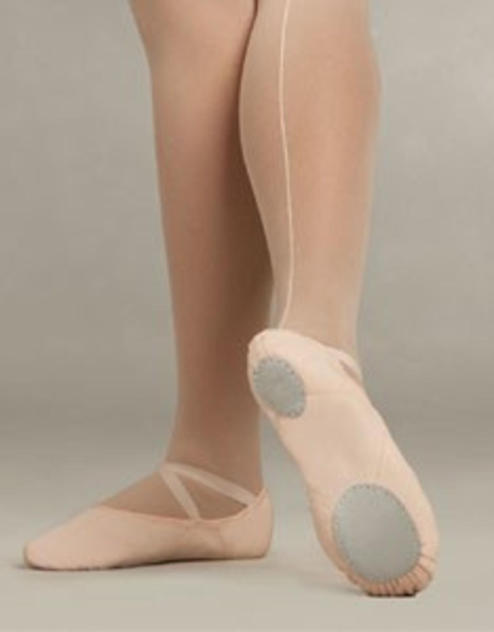 Capezio 2028C Children's Juliet Split Sole Canvas Ballet Shoe