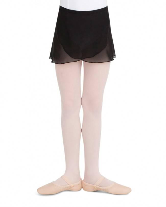 Capezio CC130C Child's Chiffon Wrap Skirt