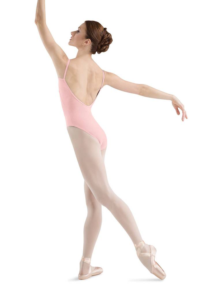 Bloch L5407 Basic V-Back Cami Leo