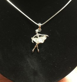 Little Bo-teek 1427 Ballerina Necklace