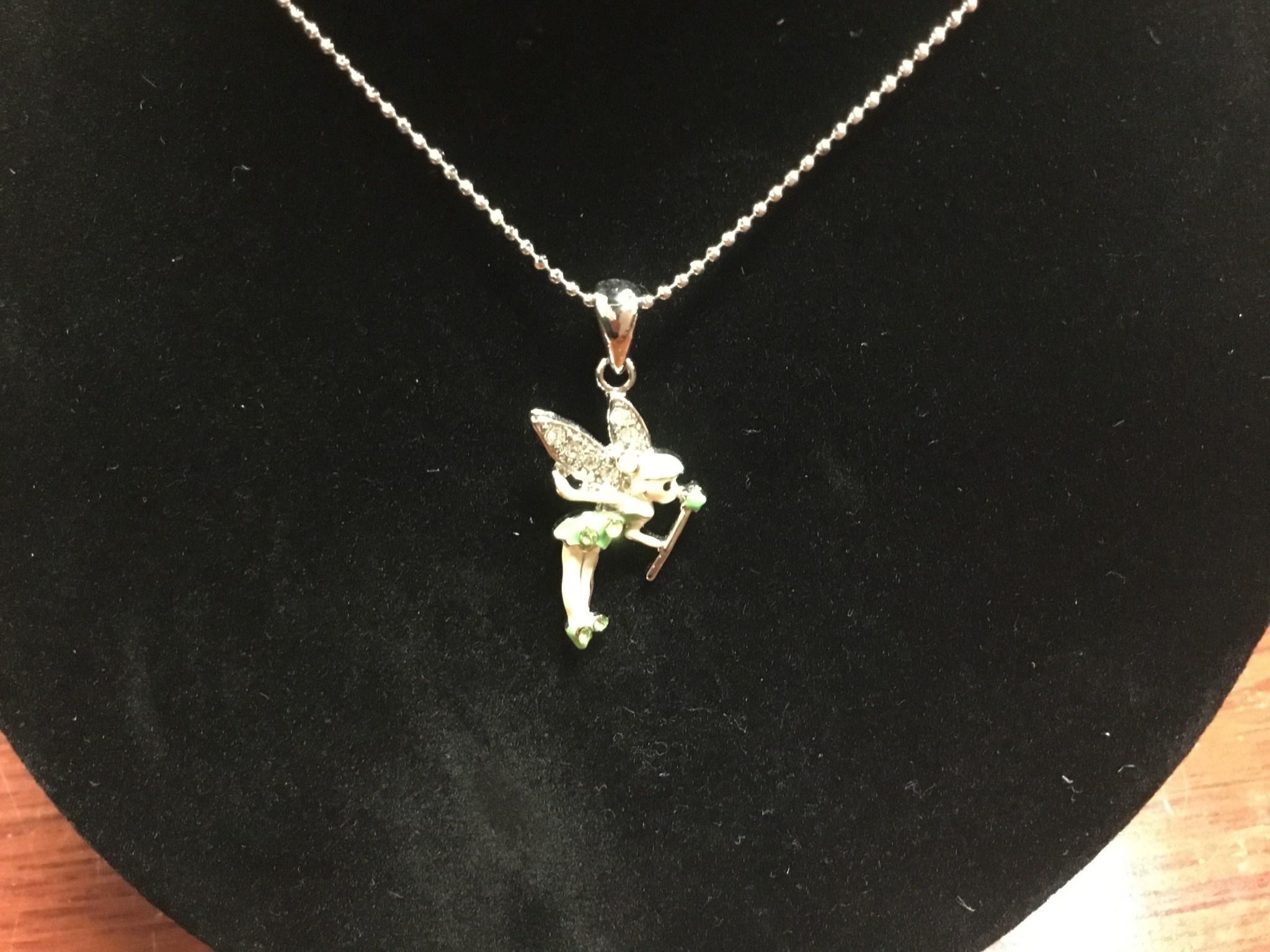 Little Bo-teek 1901 Tinkerbell Necklace