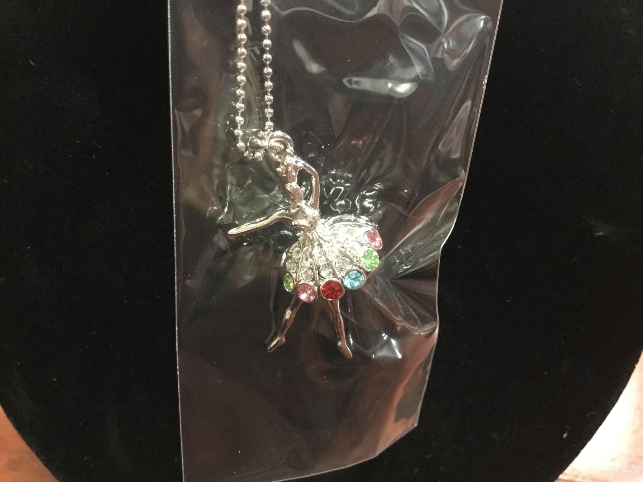 Little Bo-teek 1896 Ballerina Necklace