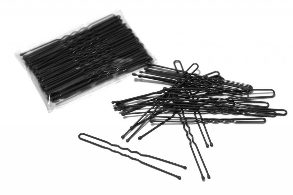"FH2 AZ0028 3"" Hair Pin Black"