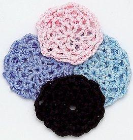 Dasha Designs 2119-BK Tape Crochet Buncover